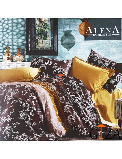 Постельное белье Beril Alena Home ЕВРО 2-x сп.