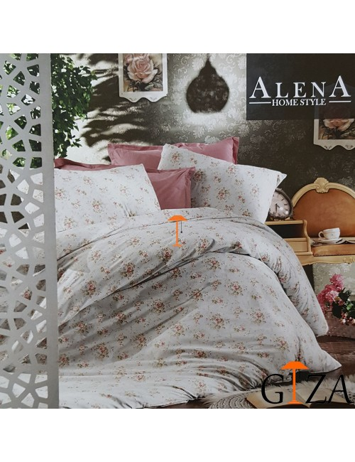 Постельное белье Mimoza mint Alena Home ЕВРО 2-x сп.