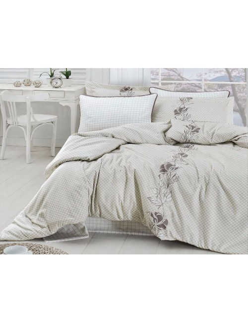 Постельное белье Сатин Saten Cotton Collection ARTEMIS KREM Frst Choice