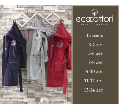 Халат Sports Time Ecocotton (3/4,5/6,7/8,11/12,13/14) - 2020
